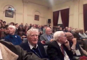 Howitt Lecture audience