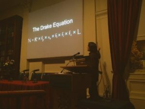 Katie Mack with Drake Equation
